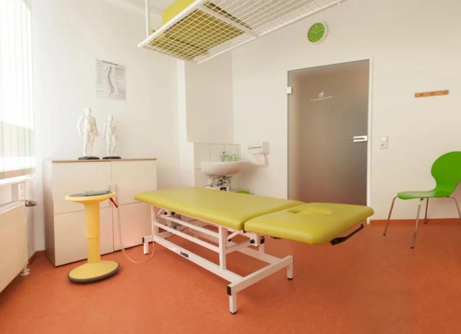 Schlingentisch zur Behandlung von Rückenschmerzen und Sportverletzungen